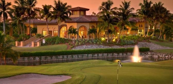 Lely Resort Naples Florida Golf Clubhouse