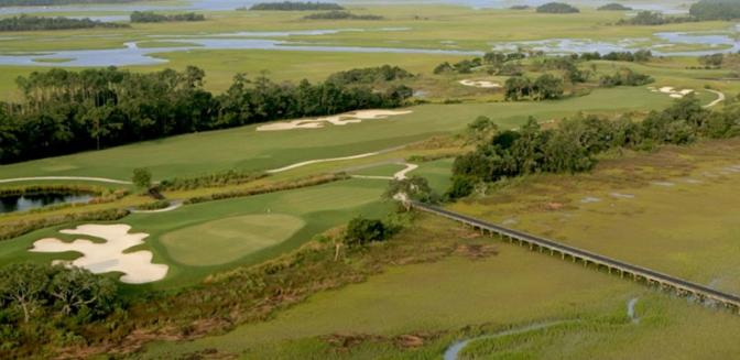 Living In Charleston Briars Creek Golf Aerial