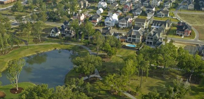 Living In Charleston Daniel Island Aerial View