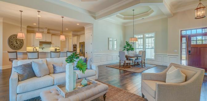 custom homes in Wilmington by Logan Homes