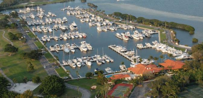 Longboat Key Club FL Marina