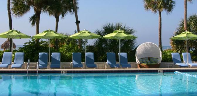 Longboat Key Club FL Swimming Pool