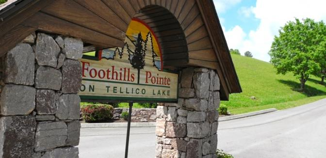 Loudon Real Estate Foothills Pointe Entrance