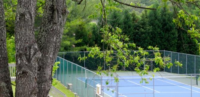 Loudon Real Estate Foothills Pointe Tennis Court