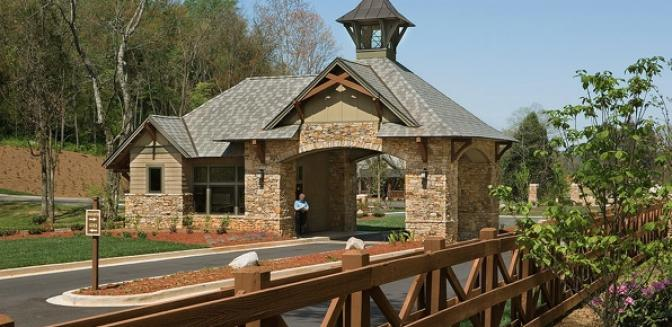 Loudon Real Estate Tennessee National Gated Entrance