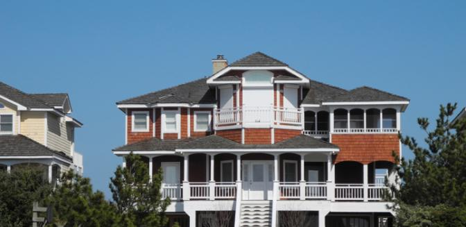 Nags Head Beachfront Homes Outer Banks Golf Community