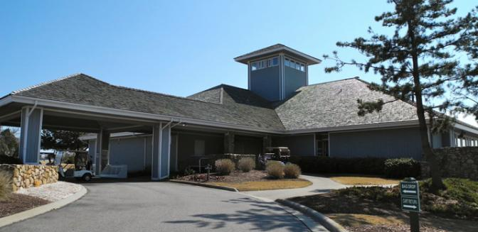 Nags Head Golf Clubhouse Outer Banks North Carolina