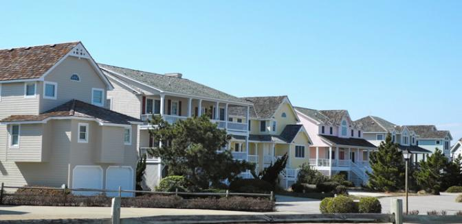 Nags Head Home Styles Outer Banks Golf Community