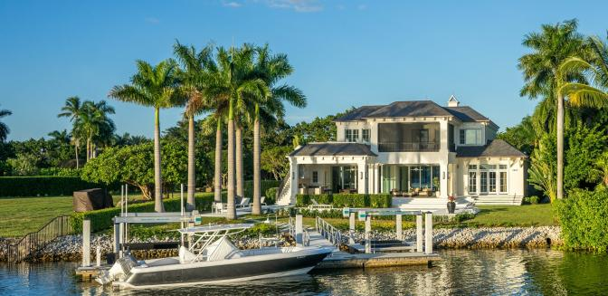 Naples FL Waterfront Property