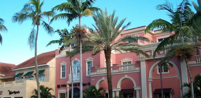 Naples Florida Shopping Fifth Avenue