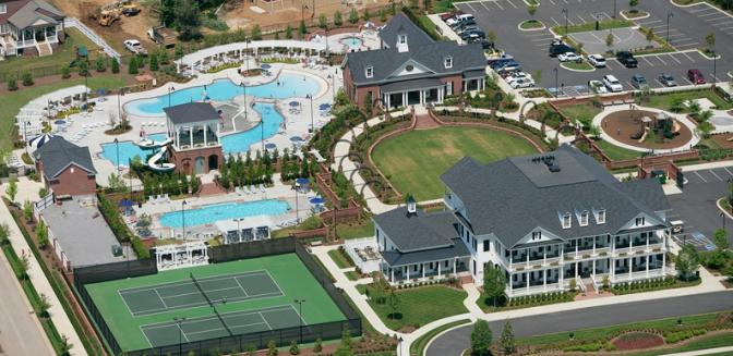 Nashville Neighborhoods Westhaven Clubhouse