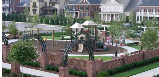 Nashville Neighborhoods Children Playground