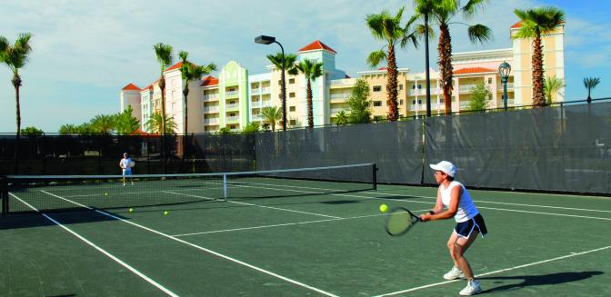 Palm Coast Yacht Harbor Village Tennis Courts