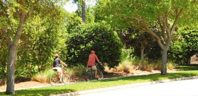 Palm Coast Homes Grand Haven Bicycle Paths