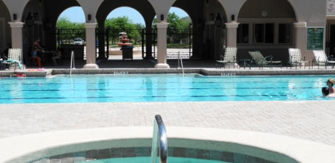 Palm Coast Homes Grand Haven Swimming Pool