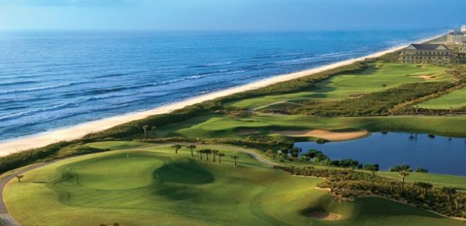 oceanfront golf in Palm Coast