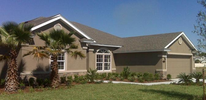Palm Coast Homes Hidden Lakes Horton
