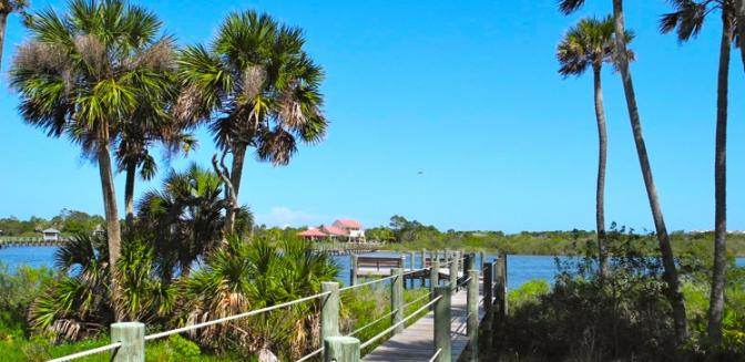 Palm Coast Homes Intracoastal Waterway Community Pavilion