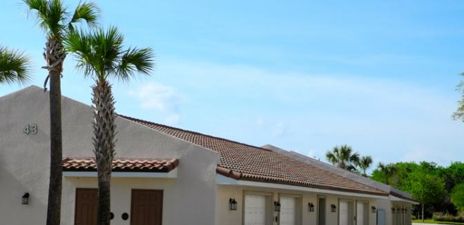Palm Coast Homes Tidelands Condominium Garages