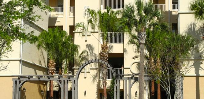 Palm Coast Homes Tidelands Condominiums Front