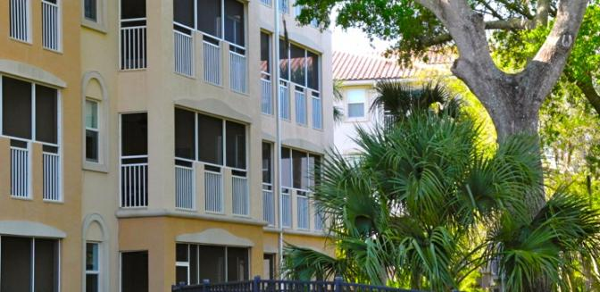 Palm Coast Homes Tidelands Condominiums Waterfront Balconies