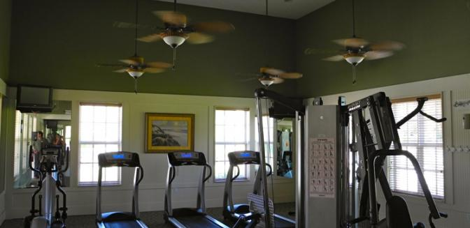 Palm Coast Homes Tidelands Fitness Center