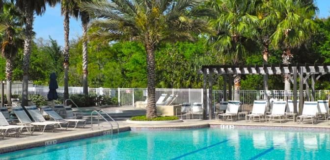 Palm Coast Homes Tidelands Swimming Pool