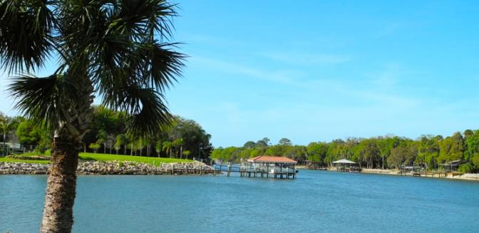 Palm Coast Homes Tidelands Waterfront Views