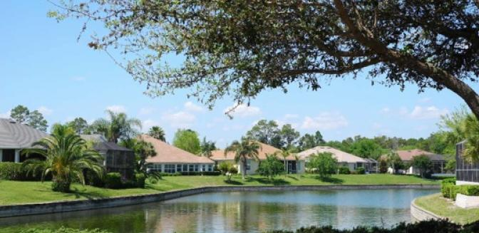 Palm Coast Homes Golf Community