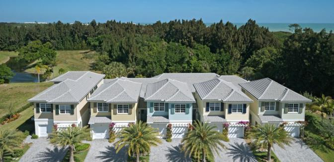 Palm Island Plantation Townhomes Vero Beach