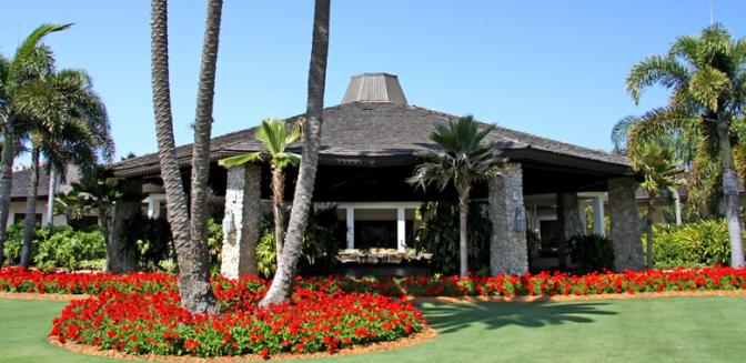 Pelican Bay Naples FL Golf Clubhouse