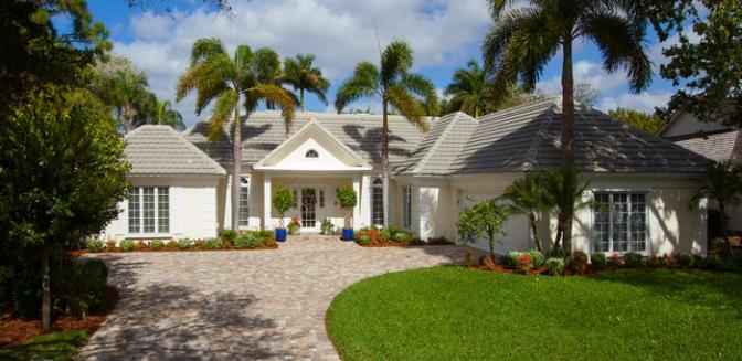 Pelican Bay Naples FL Home Styles