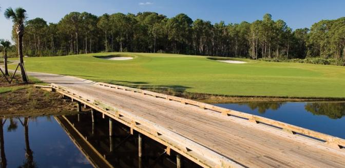 Pelican Preserve Naples FL Golf Course