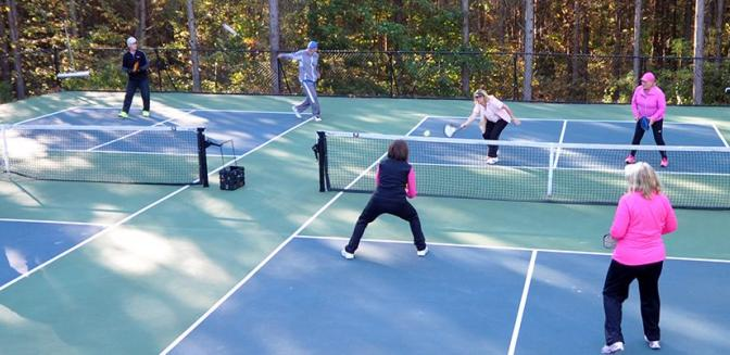 Pickleball At The Reserve SC