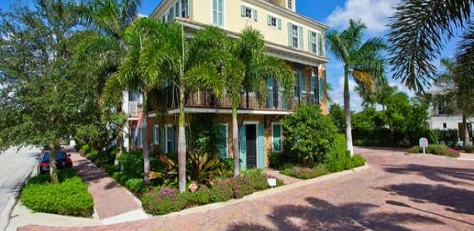 Pineapple Grove Delray Beach Townhome Cannery Row