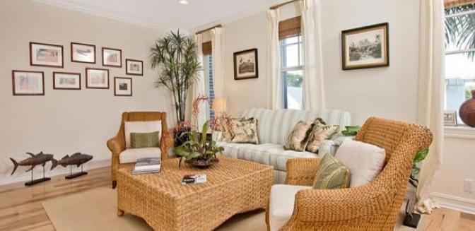 Pineapple Grove Delray Beach Townhome Living Room Designs