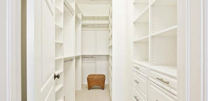 Pineapple Grove Delray Beach Townhome Master Bedroom Closets