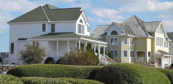 Pirates Cove Gated Outer Banks Marina Community Curb Appeal