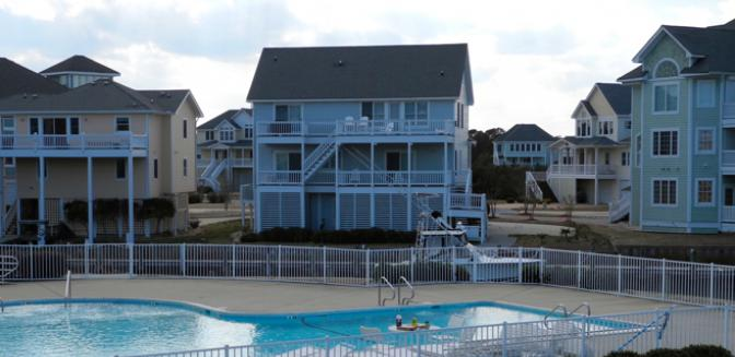 Pirates Cove Gated Outer Banks Marina Community Swimming Pool