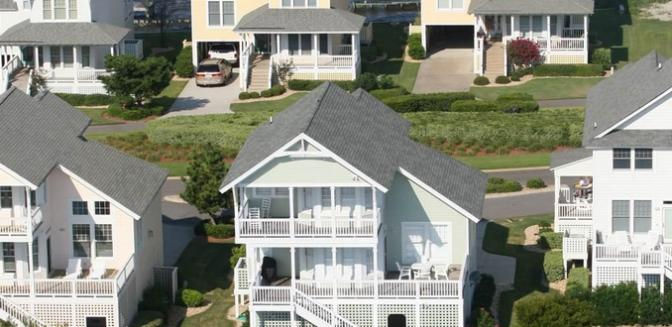 Pirates Cove Gated Outer Banks Waterfront Homes