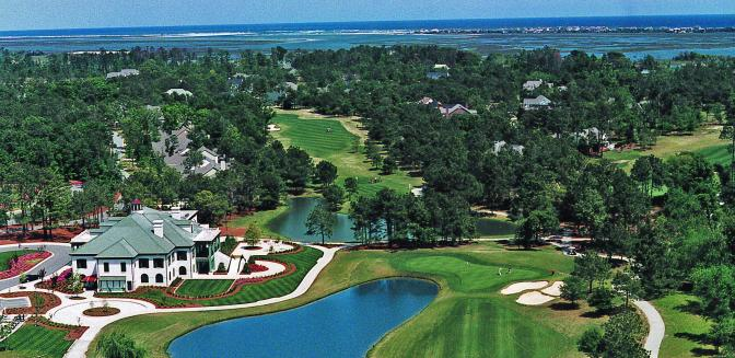 Porters Neck Country Club Aerial View