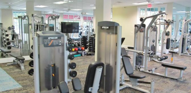 Porters Neck Country Club Fitness Center