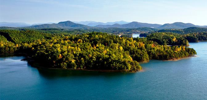 Reserve At Lake Keowee Aerial View