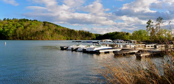 Reserve At Lake Keowee Boat Docks