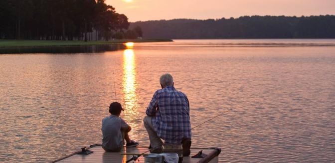 Reynolds Lake Oconee Georgia Family