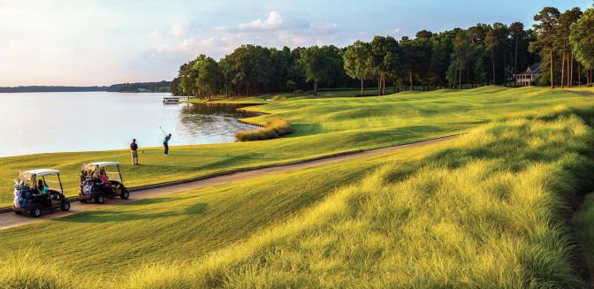 Reynolds Lake Oconee Golf Courses
