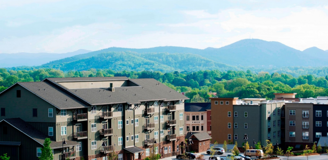 Reynolds Mountain Asheville Condominiums