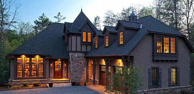 Reynolds Mountain Asheville Homes