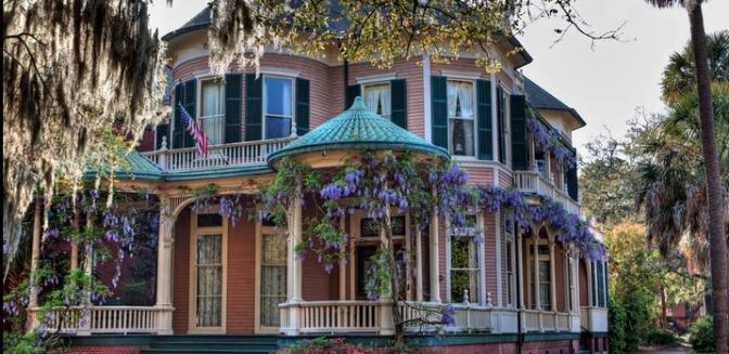 Savannah georgia best cities and places to live for Historic houses in savannah ga