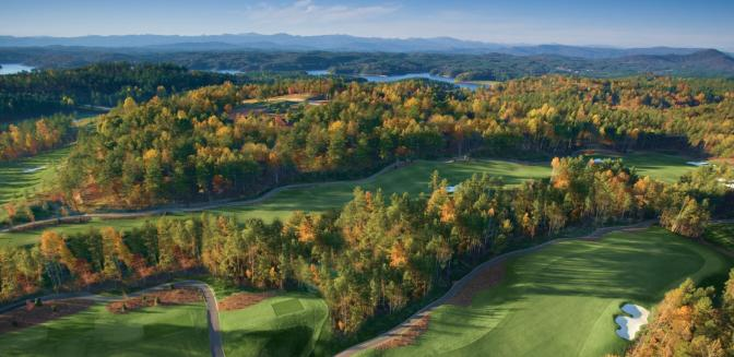 The Cliffs Keowee Springs Golf Course